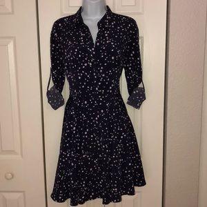 Express fir n flare shirt dress size 6